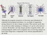 magnetic fields overview