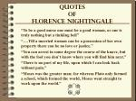 quotes of florence nightingale