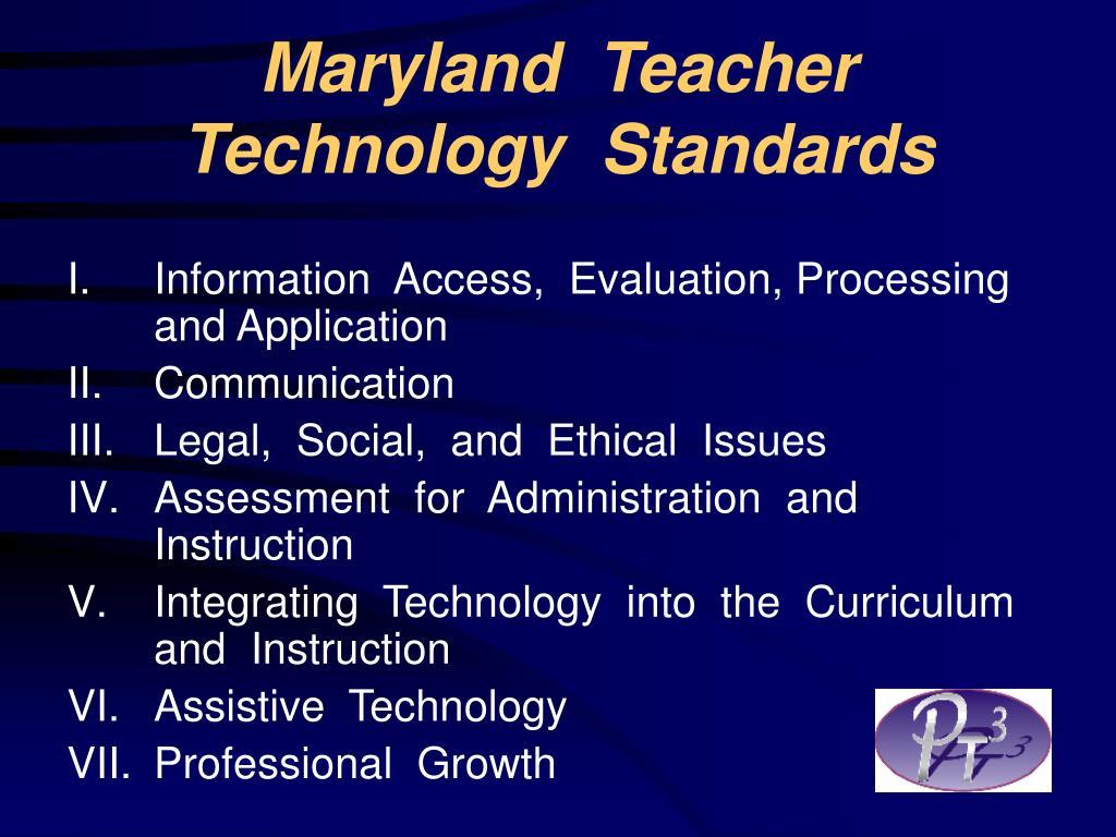 Maryland  Teacher