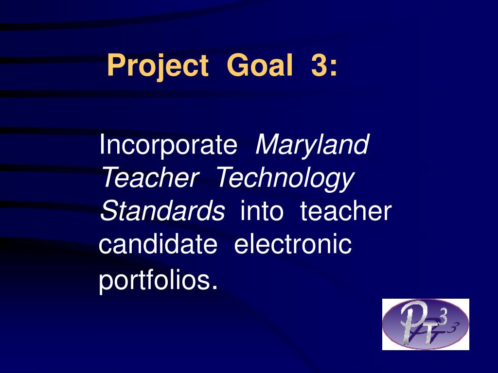 Project  Goal  3: