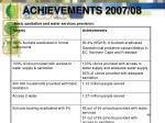 achievements 2007 0848