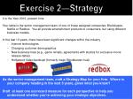 exercise 2 strategy