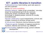 ict public libraries in transition