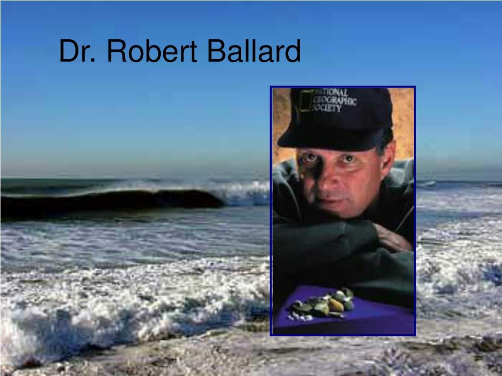 dr robert ballard l.