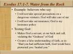 exodus 17 1 7 water from the rock29