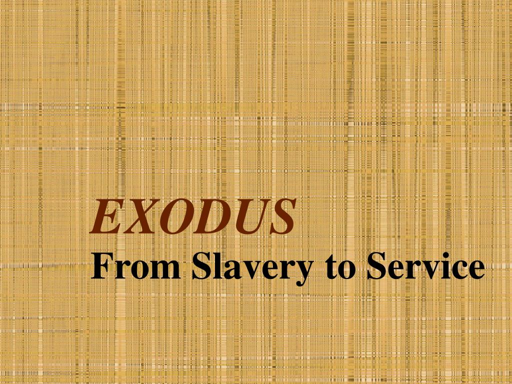 exodus l.