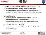 moc client user roles