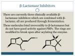 lactamase inhibitors