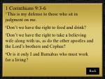 1 corinthians 9 3 6