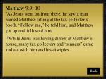 matthew 9 9 10