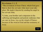 revelation 1 1 9