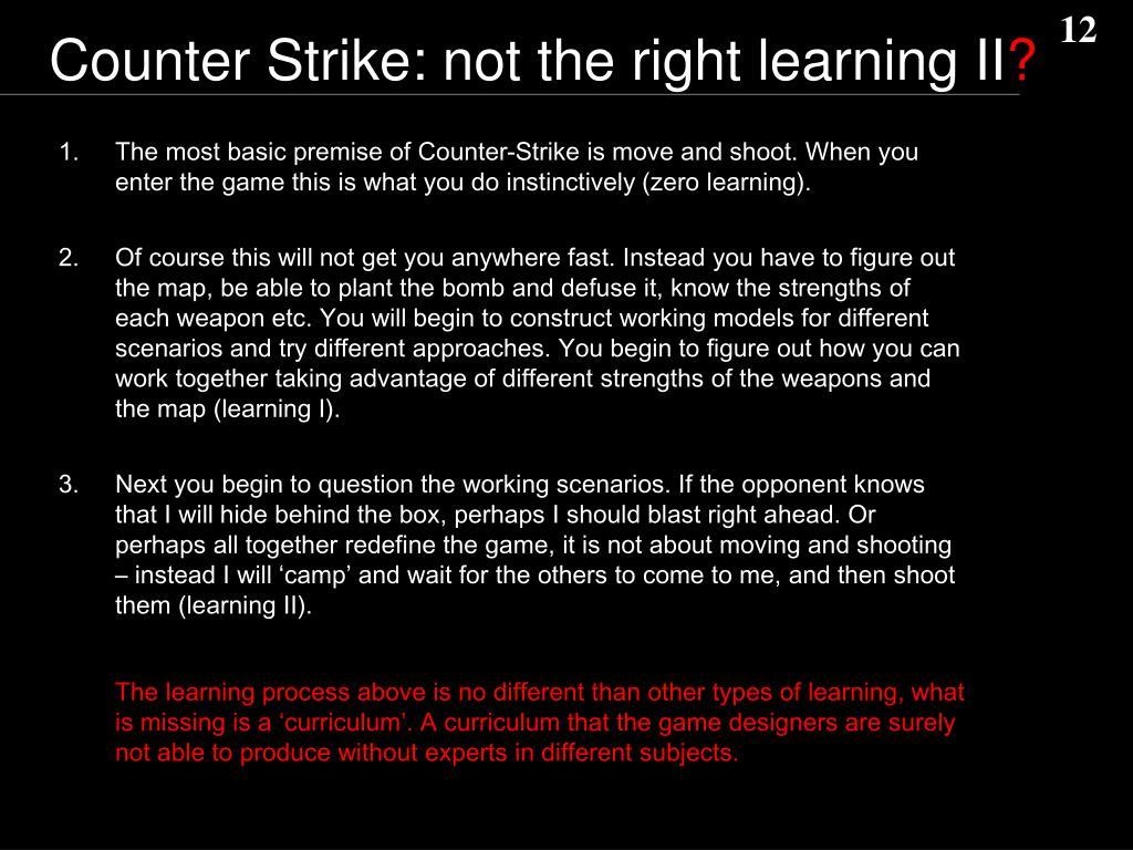 Counter Strike: