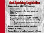 anti lynching legislation1