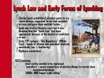 lynch law and early forms of lynching