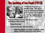 the lynching of leo frank 1913