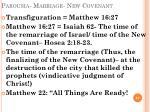 parousia marriage new covenant