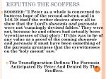 refuting the scoffers