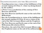 transfiguration and the millennium