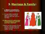 3 marriage family