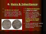6 heirs inheritance