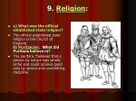 9 religion