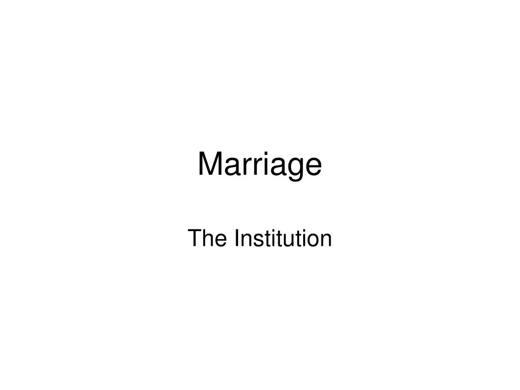 marriage l.
