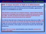 las causas en el planeta los eventos el activismo10