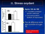 ii stress oxydant