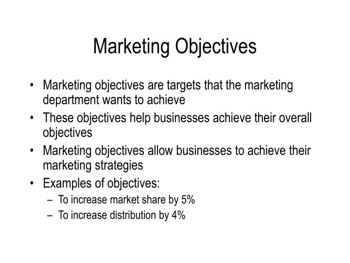objectives of studying marketing strategy Objectives: – evaluating the marketing strategy for coca cola co – studying coca cola  coca cola operations in india this report looks at global marketing.