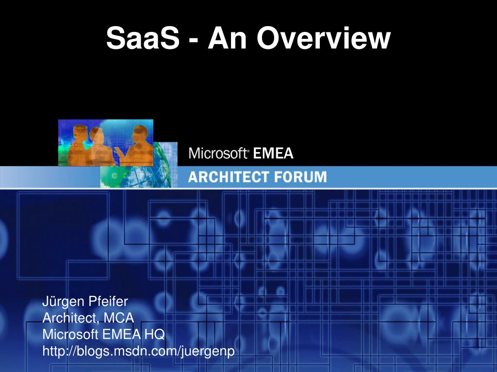 saas an overview l.
