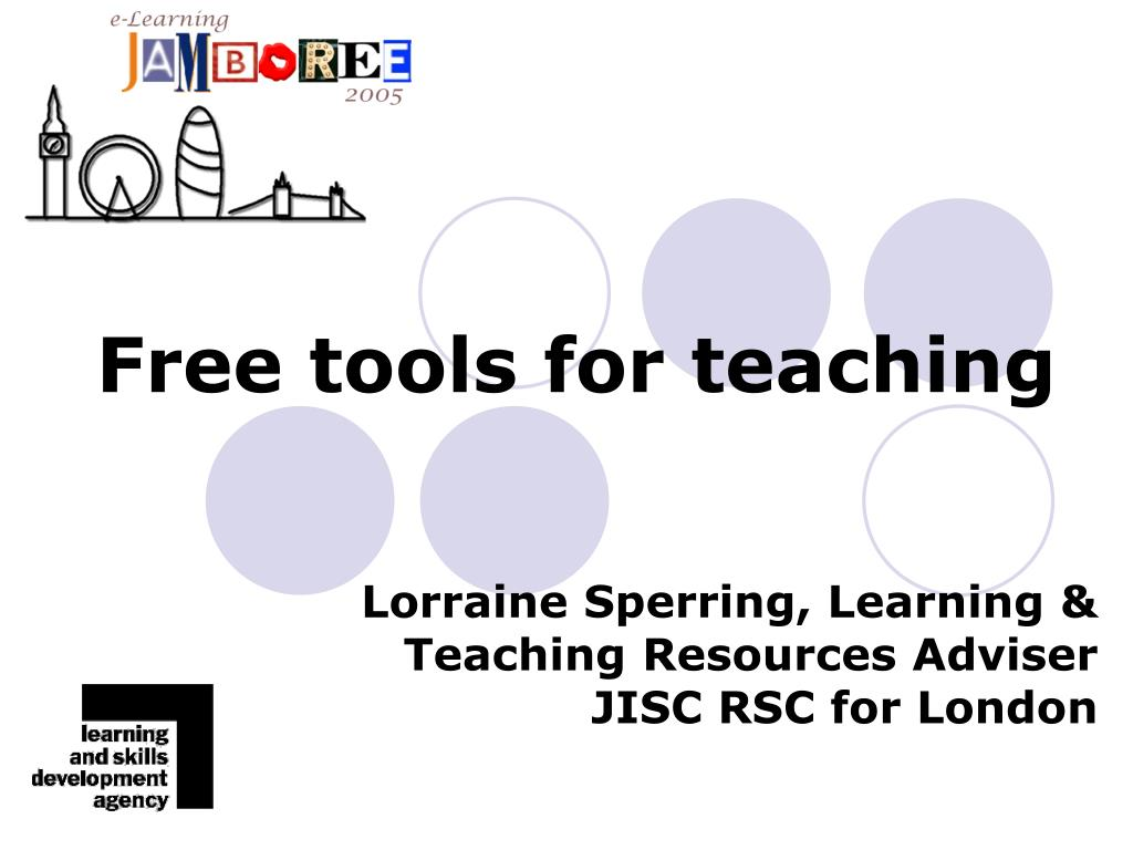 free tools for teaching l.