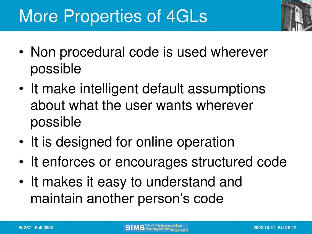 More Properties of 4GLs