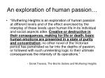 an exploration of human passion
