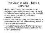 the clash of wills nelly catherine