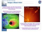 image a black hole