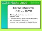 teacher s resources with cd rom