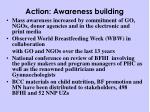 action awareness building