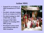 action msg