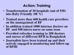 action training