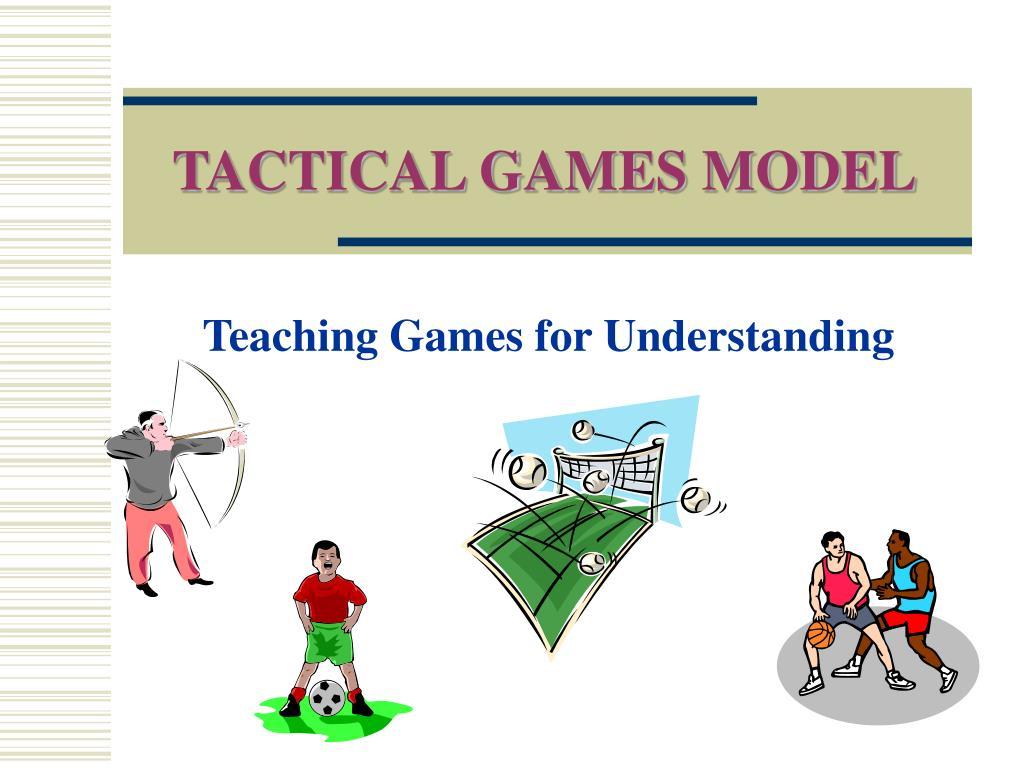 tactical games model l.
