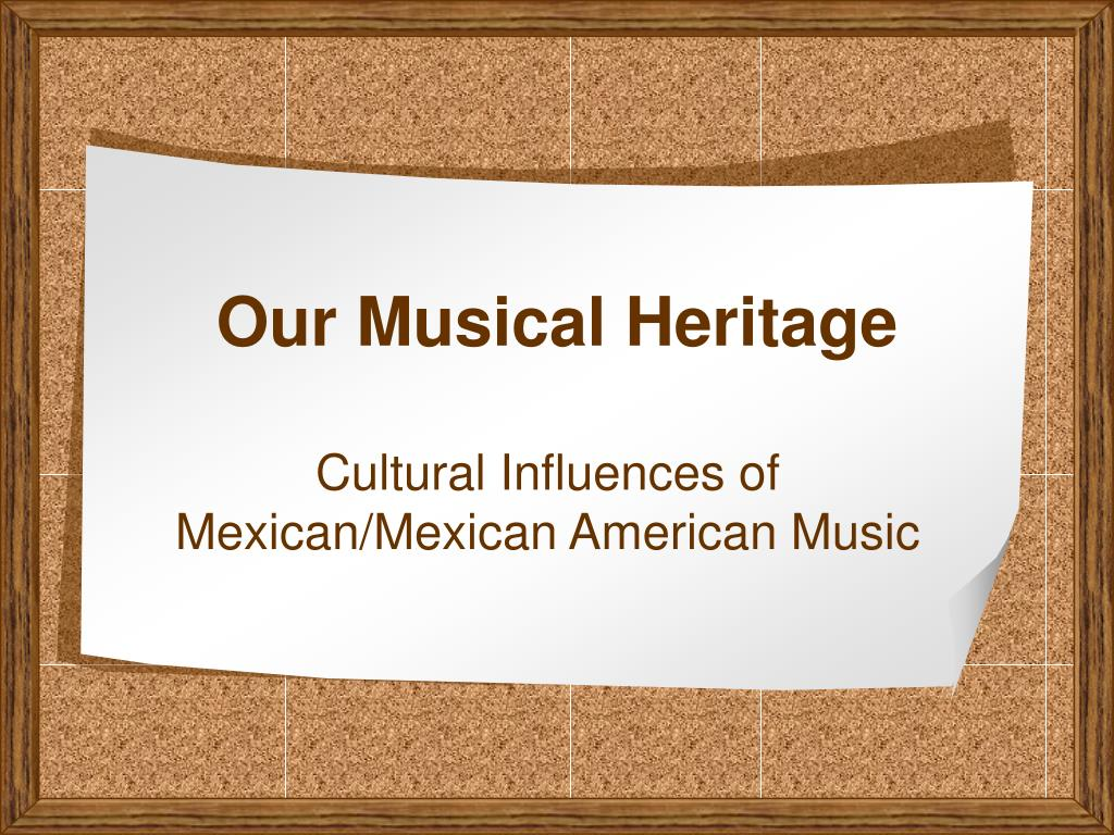 our musical heritage l.