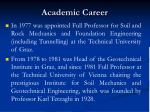 academic career4