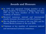 awards and honours9