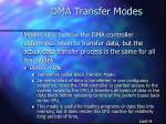 dma transfer modes