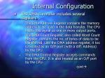 internal configuration