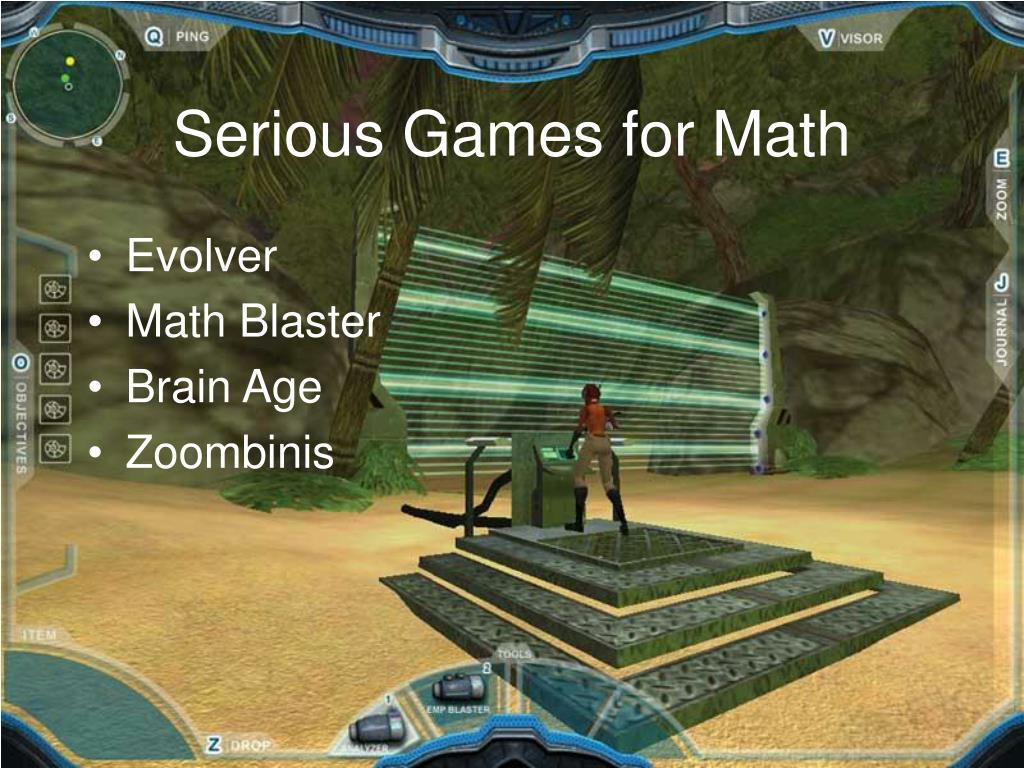 Serious Games for Math