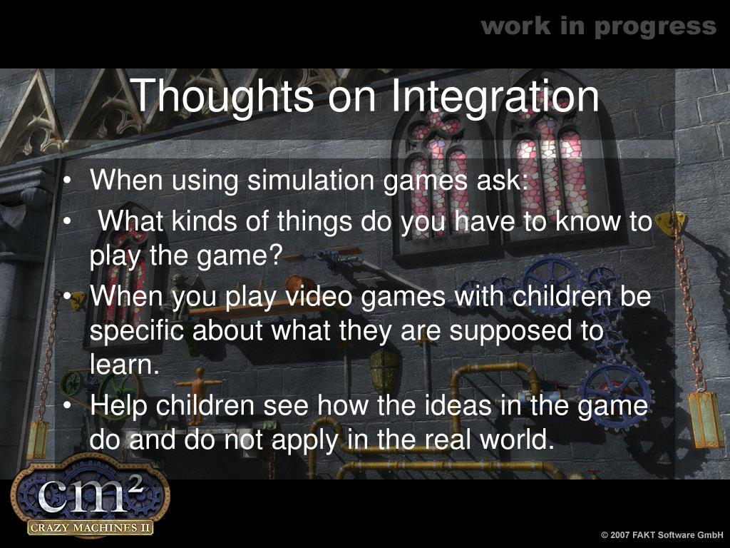 Thoughts on Integration