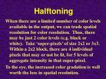 halftoning