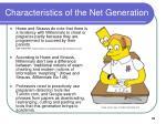 characteristics of the net generation31