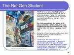 the net gen student36